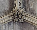 Lincoln Cathedral, Angel Choir Roof Boss, Most easterly (27884574539).jpg