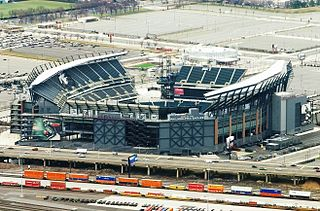 stadium in Philadelphia, Pennsylvania