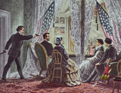 Lincoln assassination slide c1900 (cropped).png