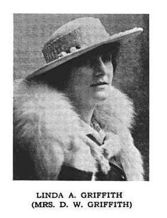 Linda Arvidson - Linda Arvidson, circa 1916