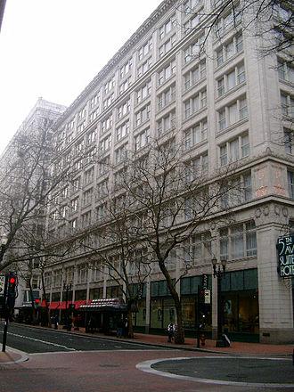Lipman's - The former Lipman's flagship store in Portland, now Hotel Monaco