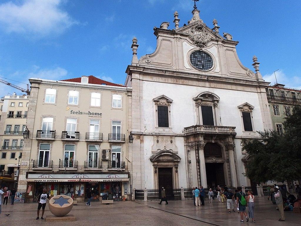 Eglise Igreja de São Domingos à Baixa, Lisbonne.
