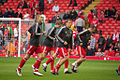 Liverpool players warming up vs Bolton 2011.jpg
