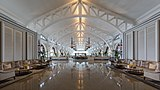 Lobby hall with couches at The Fullerton Bay Hotel Singapore.jpg