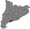 Localització del Tarragonès.png