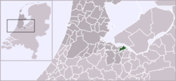 Location of Huizen