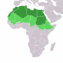 ที่ตั้งของแอฟริกาเหนือ