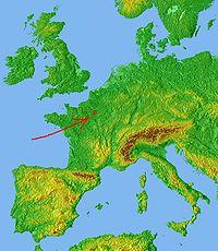 Localisation de Paris