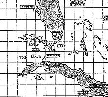 a declassified map used by the us navys atlantic fleet showing the position of american and soviet ships at the height of the crisis
