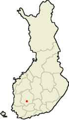 Location of Tampere in Finland.png