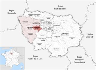 Arrondissement of Versailles Arrondissement in Île-de-France, France