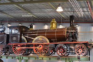 Twello train accident - Image: Locomotive 107 Spoorwegmuseum