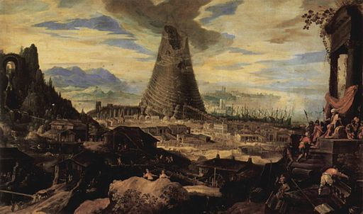 Lodewijk Toeput - The construction of the Tower of Babel