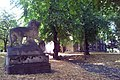 London-Woolwich, St Mary's Gardens, tomb Thomas Cribb 5.jpg
