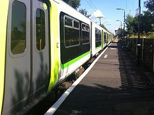 Watford North railway station - Image: London Midland train at Watford North