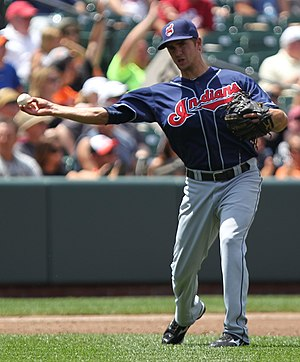 Lonnie Chisenhall - Chisenhall with the Cleveland Indians