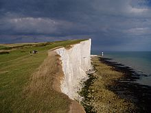 Looking along the cliffs towards Beachy Head - geograph.org.uk - 35252.jpg