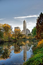 HDR image of the Central Park, NYC, during Autumn