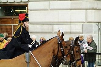 Postilion - King's Troop, Royal Horse Artillery