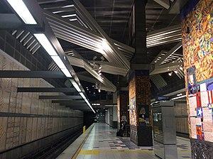 Los Angeles Metro, Universal City-Studio City Station, Platform View.jpeg