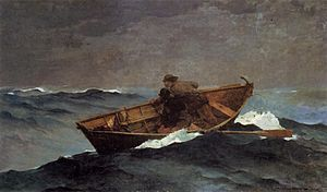 Lost on the Grand Banks - Image: Lost on the Grand Banks by Winslow Homer 1885