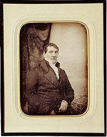 Louis Spohr, Daguerreotypie um 1840 (Quelle: Wikimedia)