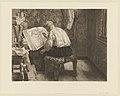 Louise Danse - Le géographe - Graphic work - Royal Library of Belgium - S.II 81406.jpg