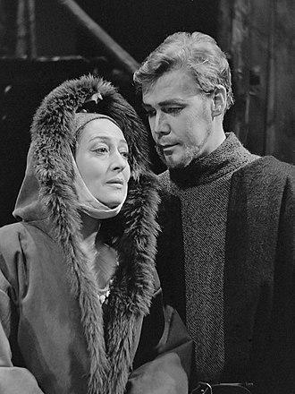 Gijsbrecht van Aemstel (play) - Image: Lous Hensen en Hans Boswinkel (1966)