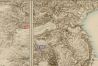 Cana - Image: Lower Galilee Cana marks