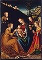 Lucas Cranach d.Ä. - Die mystische Vermählung der heiligen Katharina (Budapest).jpg