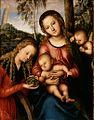 Lucas Cranach d.Ä. - Madonna mit dem Kinde und der heiligen Katharina (Portland Art Museum).jpg