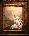 Ludovico carracci, cristo nell'orto con angelo che regge il calice dell'eucarestia, olio su rame.JPG