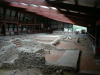 Romano-Celtic temple - Image: Lullingston Villa Kent Interior May 2001
