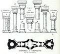 Luthmer V - 142 - Reichenberg Säulen und Grundriss Zwerchbau Obergeschoss.jpg