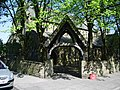 Lych gate, Parish Church of St Stephens,Little Harwood - geograph.org.uk - 420245.jpg