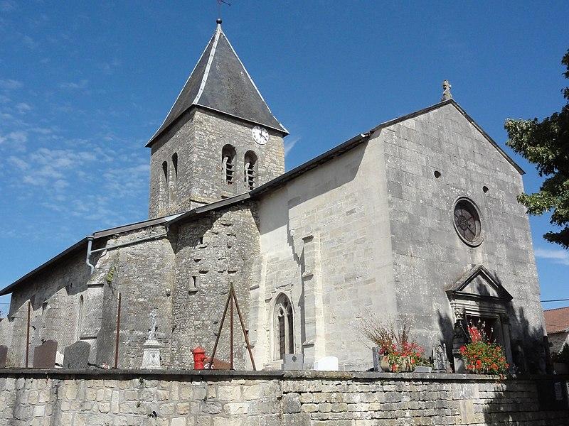 Ménil-sur-Saulx (Meuse) église