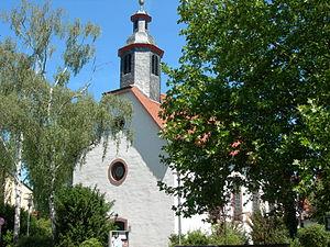 Mörfelden-Walldorf - Image: Mörfelden ev. Kirche