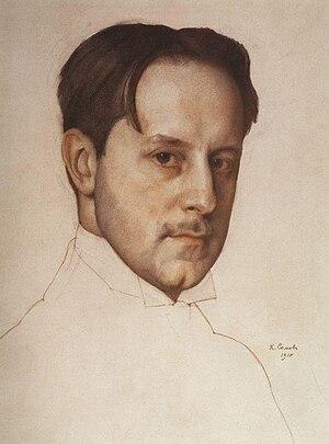 Alexei Pakhomov - Mstislav Dobuzhinsky, one of Pakhomov's teachers.