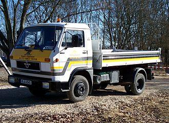 MAN Truck & Bus - MAN 8.150 truck Stand in Regensburg