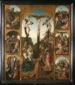 MCC-7988 Kruisiging met meerdere figuren en zes taferelen uit het lijden van Christus (1).tif