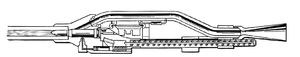 MK 115 cannon - Cutaway drawing of the MK 115 cannon.