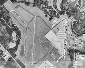 Smyrna Airport (Tennessee) - USGS aerial image, February 1999