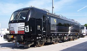 Vectron (locomotive) - Image: MRCE 193 850 münchen 2013 2