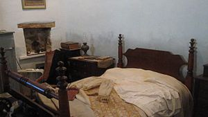 Republic of the Rio Grande Museum - Hacienda bedroom