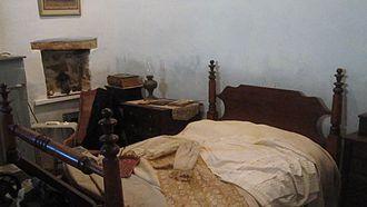 Republic of the Rio Grande Museum - Hacienda bedroom