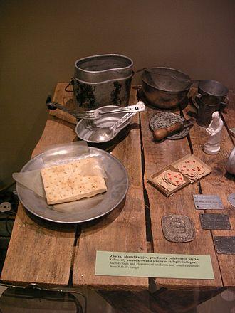 Oflag VII-A Murnau - Various items of daily use from Murnau