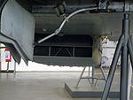 Macchi MC.205, dettaglio radiatore ventrale, Museo Nazionale della Scienza e della Tecnologia (Milan).jpg