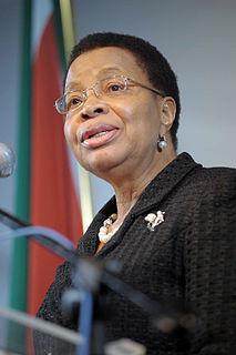 Mozambican humanitarian activist and politician