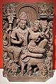 Madhya pradesh, shiva e uma seduto sul toro nandi in abbraccio amoroso (umamaheshvara), ix secolo.jpg