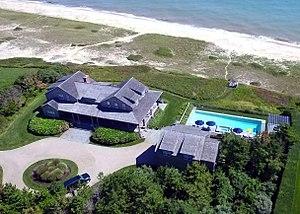 Ruth Madoff - Mark Madoff's Nantucket Home by Don Ramey Logan